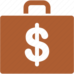 accounting, bag, baggage, briefcase, case, luggage, tax icon