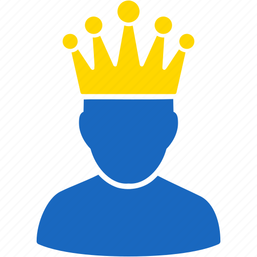 admin, administrator, boss, crown, manager, moderation, moderator icon