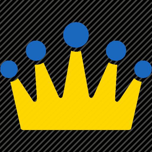 admin, administrator, award, crown, king, moderator, winner icon