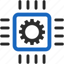 automatic, automation, control, development, engineering, integration, processor icon