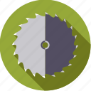 blade, circular, diy, saw, tool, workshop icon