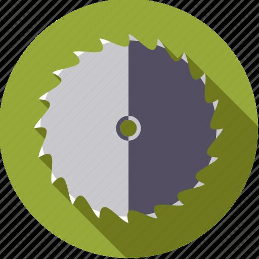 blade, circular, diy, saw, tool, workshop icon
