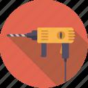 diy, drill, electrical, tool, workshop