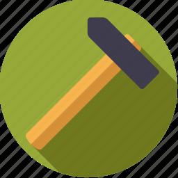diy, hammer, tool, workshop icon