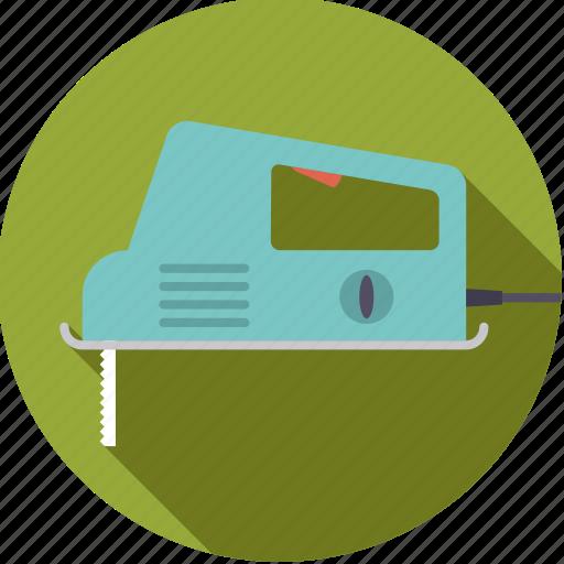 diy, electrical, jigsaw, saw, tool, workshop icon