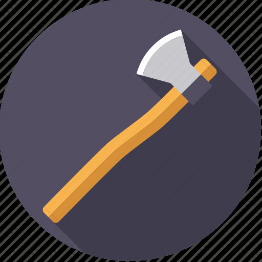 axe, diy, lumber, tool, workshop icon