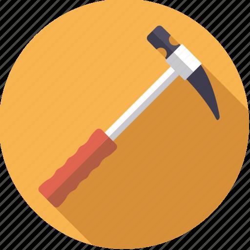 diy, hammer, metal, tool, workshop icon