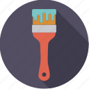 brush, diy, paint, paintbrush, tool, workshop icon