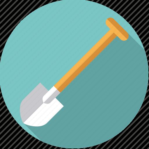 diy, gardening, shovel, spade, tool, workshop icon