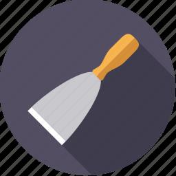 diy, scraper, spatula, tool, workshop icon