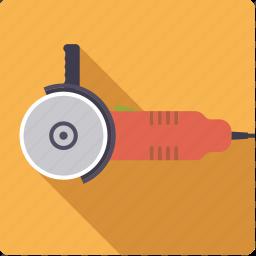 angle, craft, diy, electrical, grinder, tool, workshop icon