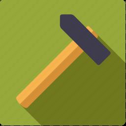 craft, diy, hammer, tool, workshop icon