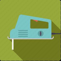 craft, electrical, jigsaw, saw, tool, workshop icon