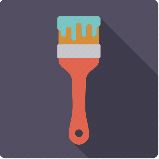 brush, craft, diy, paint, paintbrush, tool, workshop icon