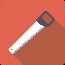 craft, crosscut, diy, saw, tool, woodwork, workshop icon