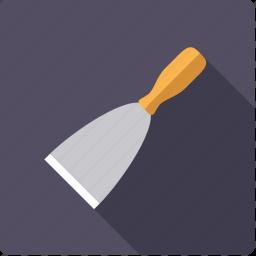 craft, diy, scraper, spatula, tool, workshop icon