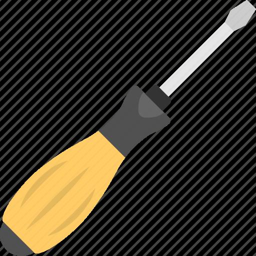 garage tools, maintenance concept, screwdriver, tester, workshop icon