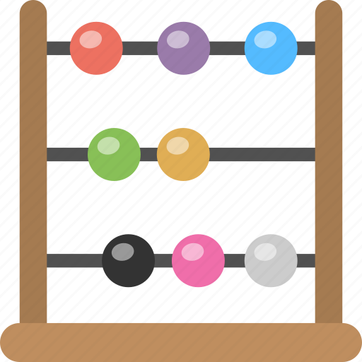 abacus, counting frame, finance, math, measuring tool icon