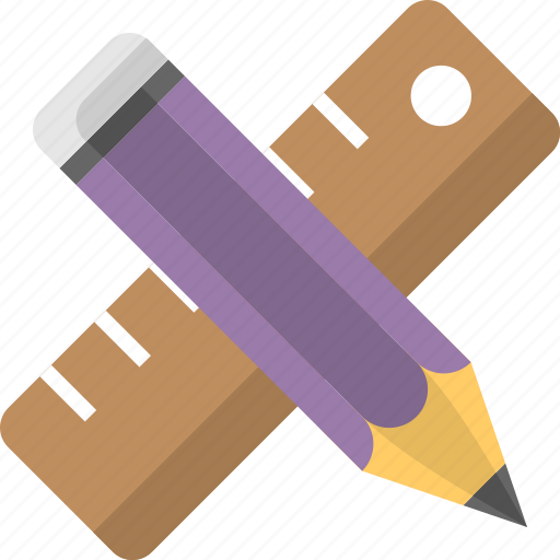 architect, development, drawing art, engineering, measurement icon