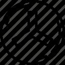 bolt, edges, nut, three, three edges, three edges bolt icon