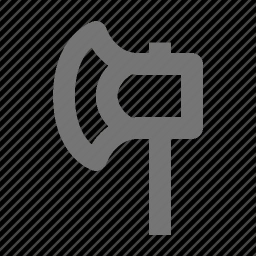 axe, chop, equipment, hatchet, repair, tool, work icon