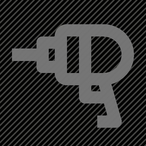 drill, handdrill icon