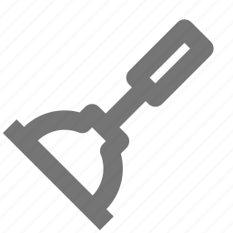 cleaning, equipment, plunger, repair, tool, work icon