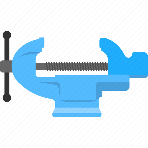 c clamp, carpentry clamp, compression tool, prop puller, ski boat tool, woodshop tool icon
