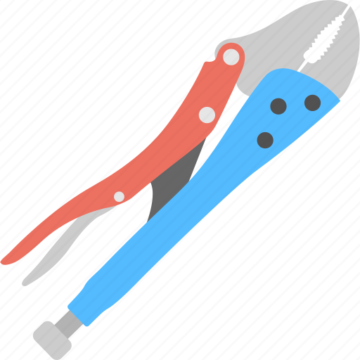 bolt cropper, bolt cutter, chain cutter, electrician tool, plumbing equipment icon