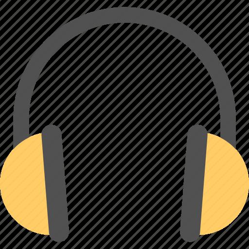 computer accessory, earphones, headphone, headset, music listening icon
