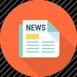 equipment, magazine, network, news, tool, web icon