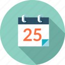 calendar, design, schedule, time, tool icon