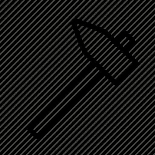 carpenter, diy, hammer, implement, tool, work icon