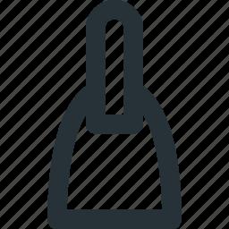 construction, decoration, knife, palette, renovation icon