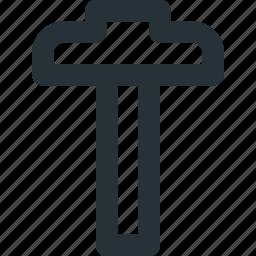 architecture, drawing, square, t-square, technic, tool icon