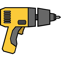 drill, driller, maintenance, repair, tools icon