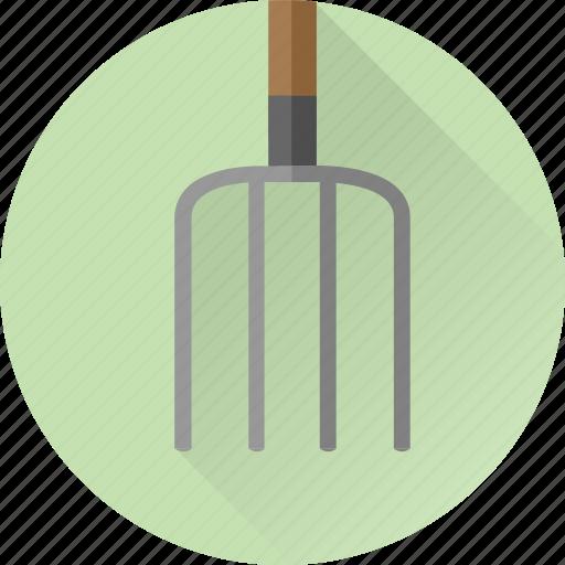 farm, farmer, farming, fork, garden, gardening, hay icon