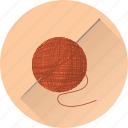 cloth, fabric, needle, sewer, sewing, tailor, thread icon