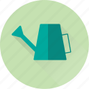 crop, eco, flower, garden, plant, water, watering can icon