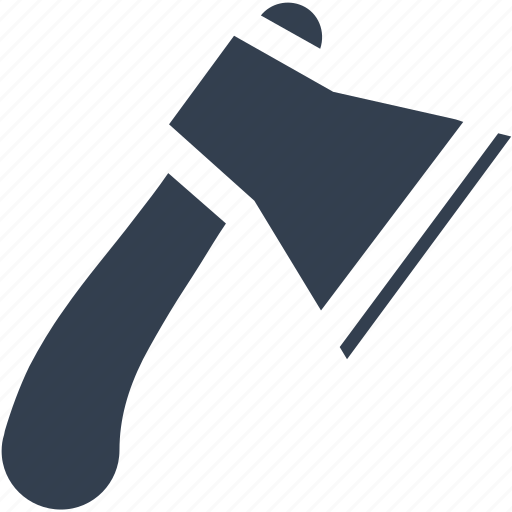 axe, construction, cut, equipment, repair, setting, tools, work icon