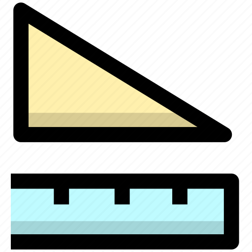 geometry, measure, measurement, measuring, ruler, scale, size icon