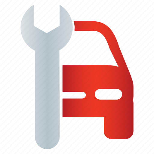 auto, car, tappet, tool, transport, workshop, wrench icon