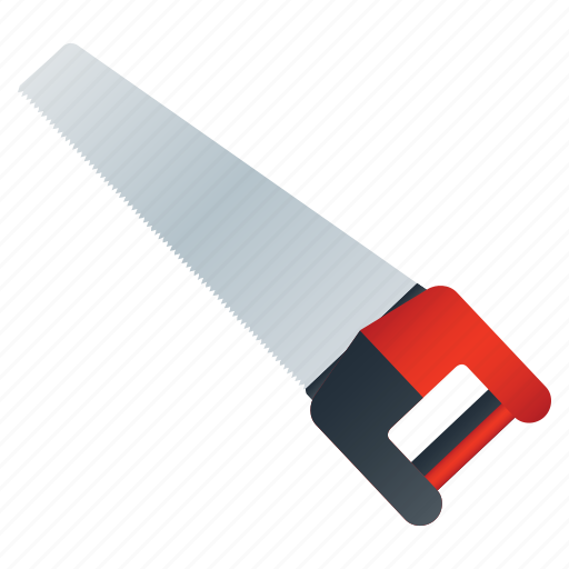 cutter, saw, wood icon