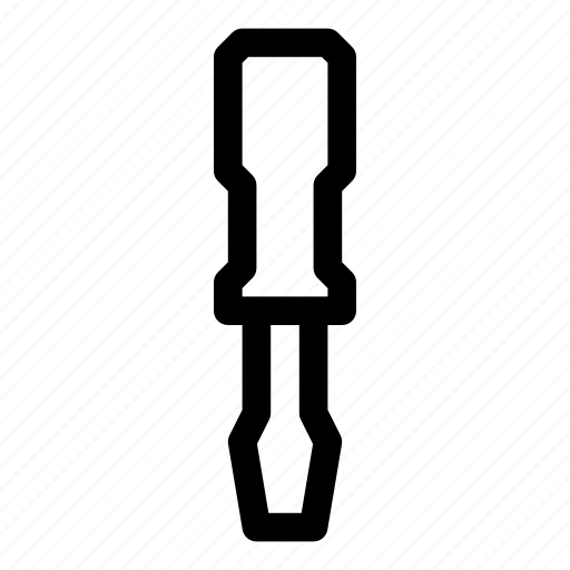 screwdriver, tool, tools, turn-screw icon