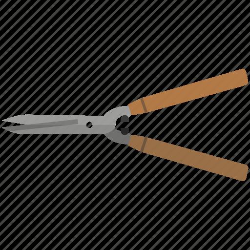 cut, garden, hedge, shears, trim icon