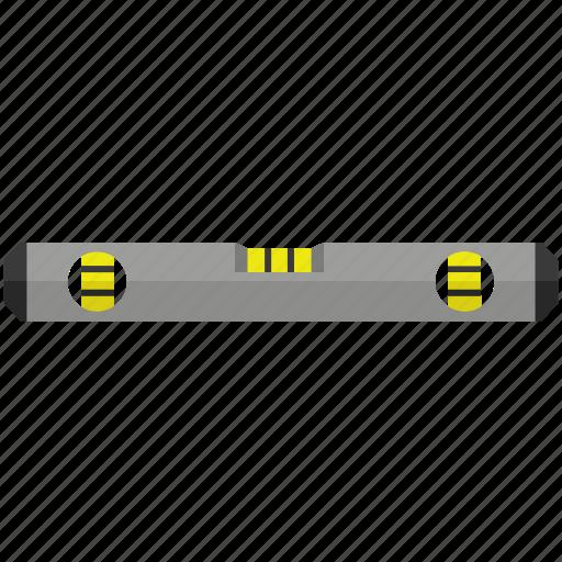 adjust, level, measure, spirit, surface, tools icon