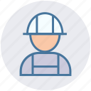 builder, civil engineer, construction, construction engineer, man, person, worker icon