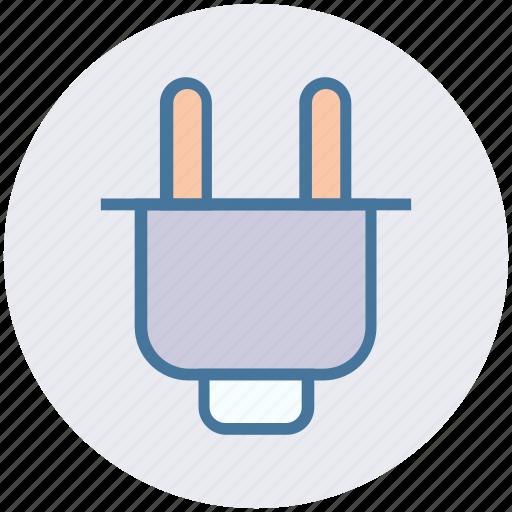 construction, electrician, electricity, plug, power plug, tool icon