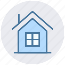 building, construction, home, house, hut, real estate icon