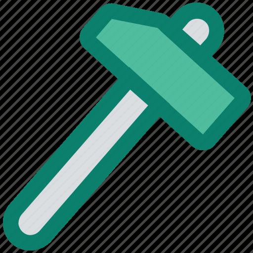 carpentry, construction, diy, hammer, instrument, repair, tool icon